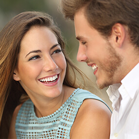 Porcelain veneers can correct many cosmetic dental problems.