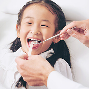 Ensure good oral health with at least biannual visits to your dentist.