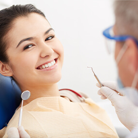 Porcelain veneers often allow you to correct multiple dental flaws in a single procedure.
