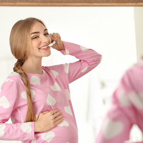 Pregnant women are at greater risk of oral health issues.