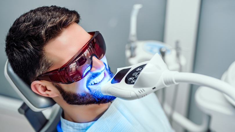 In-office teeth whitening is safer and more effective in addition to being more cost-efficient over the long term.