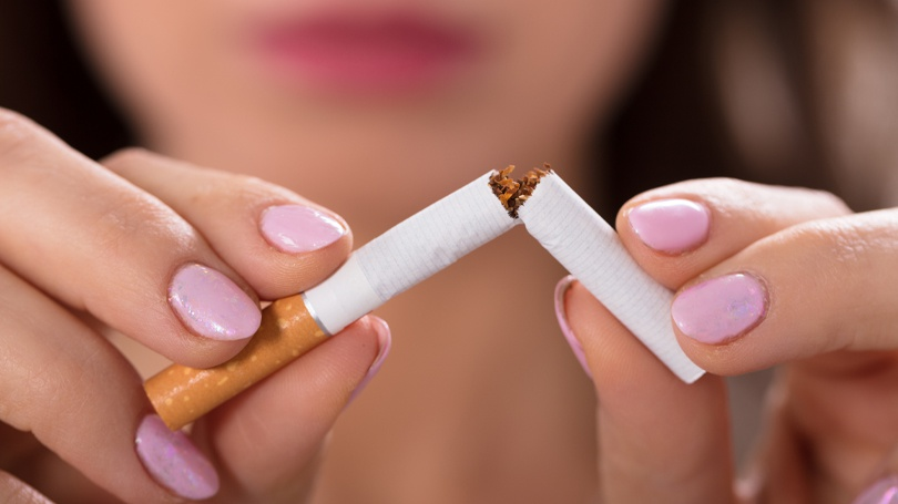 Smoking is, of course, bad for your health and can wreak havoc on your teeth and gums.