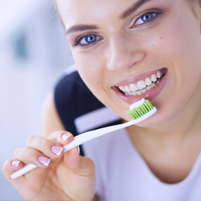 Modern toothbrushes are much different than the earliest designs.