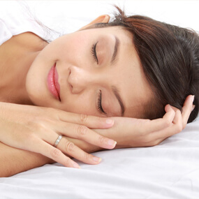 Nocturnal bruxism is often treated with a custom-fit night guard.