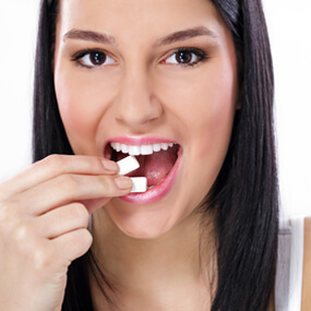 Xylitol can be beneficial to oral health and is used as a sugar replacement.