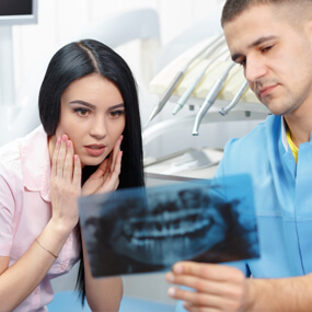 Tooth pain is not necessarily caused by tooth decay.