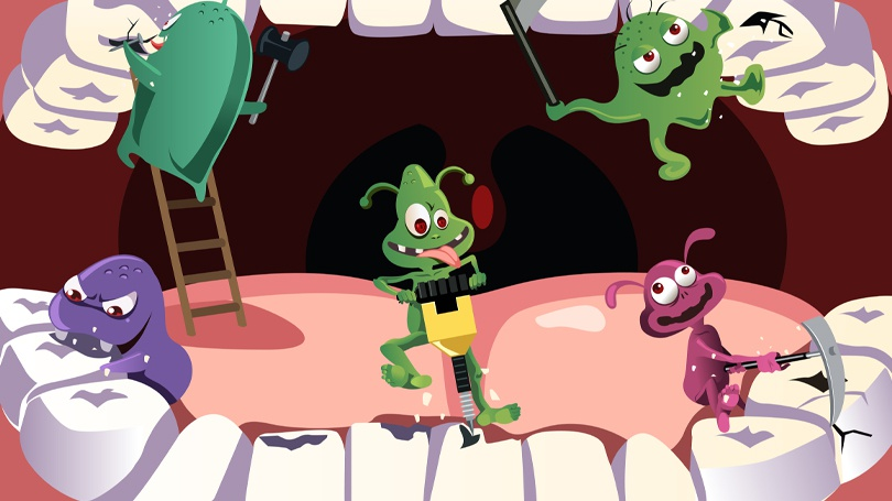 Not all oral bacteria are bad, but the harmful bacteria can undermine your oral health if left unchecked.