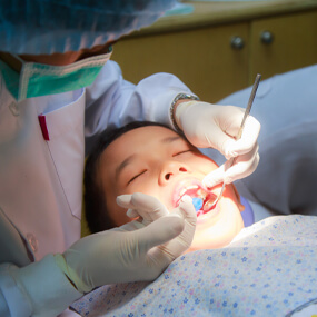 Dental sealants can avoid problematic molar cavities.