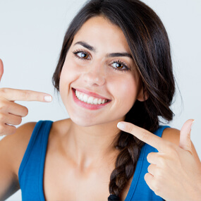 Synergize multiple cosmetic dental treatments into your perfect smile makeover.