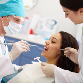 Caught early enough, smooth surface cavities can be reversed with fluoride treatments.