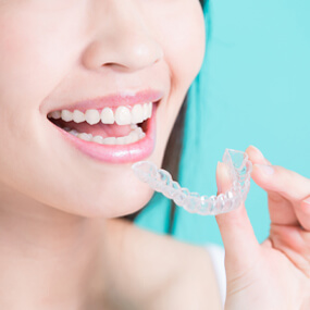 Clear aligners are often a better way to straighten teeth than metal braces.